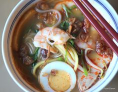 Revisiting Auntie Ruby's Hokkien Prawn Mee cooking notes