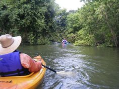 Bridgeport Falls Paddling Trail - Enjoy a variety of water types including quiet pools and several small riffles along this 5.8-mile scenic loop on the West Fork of the Trinity River.