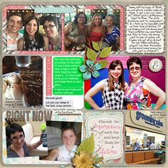 Digital Scrapbook Page Layout by staciahall using Lifetime Stories, Document Set and coordinating Alphas from Etc by Danyale at The Lilypad #etcbydanyale #digitalscrapbooking #memorykeeping #lifestory