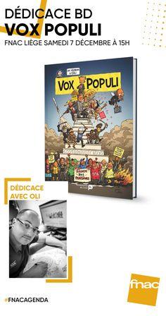 Séance dédicace avec Oli pour Vox Populi aux éditions Renaissance du livre. Vox Populi, Renaissance, Baseball Cards, Day Planners