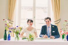 Amy & Daniel's Wedding (Evans Room) Crafty Hand Sewn Vintage Wedding http://www.njphotographic.co.uk/