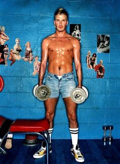 David Beckham by David LaChapelle
