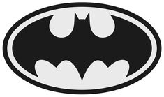 How to make your own custom printables (including downloadable Batman logo) :-)