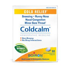 Occicilium for colds...Love this product...Natural