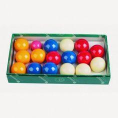 Billes de Billard Jeu Pétanque 4 couleurs aramith 50,8mm - 55,10 €  #Jeux