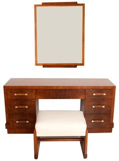 Donald Deskey for AMODEC American Art Deco Vanity