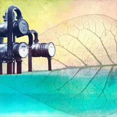 'UNDER CONSTRUCTION I (refreshed)' von Pia Schneider bei artflakes.com als Poster oder Kunstdruck