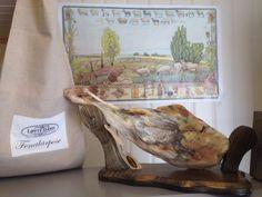 Dried and salted lamb leg. Lamb, Painting, Painting Art, Paintings, Paint, Draw, Baby Lamb, Baby Sheep