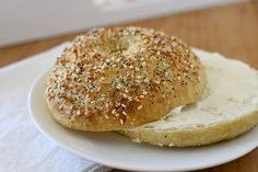 We're in limbo between Christmas and New Year's, and to me this is the perfect time to talk about homemade bagels.  Many of us have a blessed extra day or two off of work, and may find ourselves with an extra moment to spend in the kitchen.  New Year's resolutions and diets are looming so …