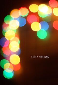 Be festive + bright. Hello Weekend, Friday Weekend, Happy Weekend, Happy Day, Fun Weekend Quotes, Weekend Images, Twinkle Lights, Twinkle Twinkle, It's The Freakin Weekend