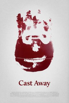 Poster for Cast Away by Scott Saslow. #castaway #robertzemeckis #tomhanks #helenhunt #nicksearcy #lariwhite #chrisnoth #geoffreyblake #2000s #drama #adventure #survival #uninhabitedisland #island #wilson #alansilvestri #movieposter #graphicdesign #posterdesign #fanart #alternativefilmposter #alternativemovieposter #photoshop