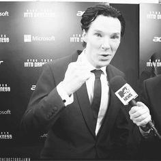 Benedict Cumberbatch pushes the Virgin Mary...