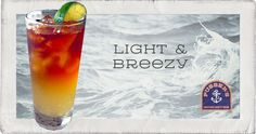 Light and Breezy Cocktail.
