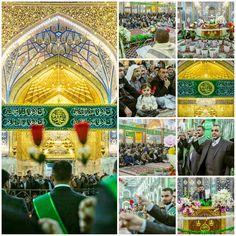 Celebration Ceremony in Imam Hussein Holy Shrine for Birthday of Prophet Muhammad   #17RabiUlAwwal1437