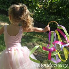 I was recently sorting through my craft supplies when I came across several bamboo hoops/handles that I had stashed away from the days that...