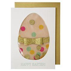 Easter Egg Shaker Card