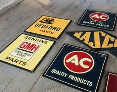 Rare Holden signs recently sold at auction