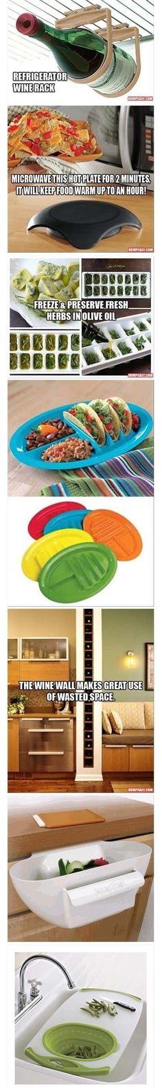 7 Cool Kitchen Gadgets & Ideas!!