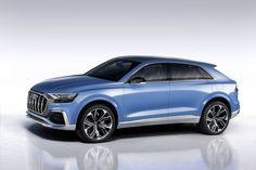 Après avoir été élargie par le bas, avec le Q2, la gamme des SUV Audi sera bientôt chapeautée par un nouveau modèle, concurrent des BMW X6 et Mercedes GLE Coupé. Attendu dans les concessions fin 2018, le Q8 est annoncépar un concept-car.
