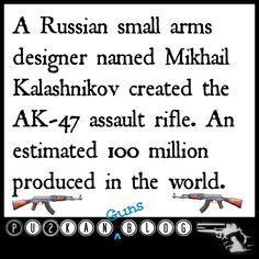 AK-47 Trivia Kalashnikov