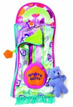"""Manhattan Toy Groovy Girls Style Snazzy Sleeper by Manhattan Toy. $10.77. Inspires fun, creative play in your young child. Amazing attention to detail. Fits any 13"""" Groovy Girl. Part of the Groovy Girls Collection by Manhattan Toy Company. Groovy Girls encourage young girls to celebrate their own unique qualities. From the Manufacturer                Groovy Girls by Manhattan Toy are posh playmates and are the coolest dolls around. With funky outfits and aweso..."""