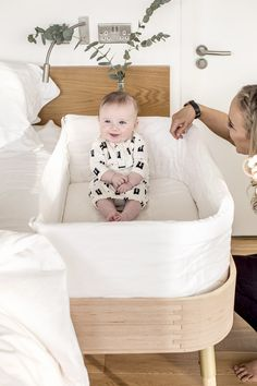 The Hugg organic bedside sleeper from Bababou is strong, durable, and can be used as an innovative bedside crib for up to six months. The Hugg can then be reused by the family for many years outside the nursery as it can be repurposed into a stylish desk and bench. For more details click on https://bababou.com/