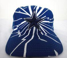 check out da9d0 d2dd3 Vintage Starter Dallas Cowboys Snapback Hat Cap Wool   Acrylic Blue
