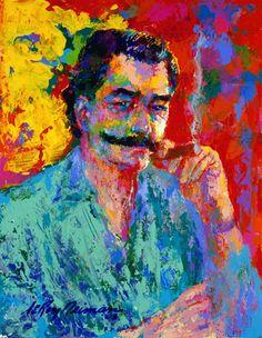 LeRoy Neiman - Self-portrait (1921-2012)