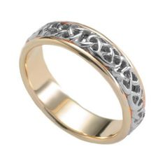 Never-ending Knot Wedding Band