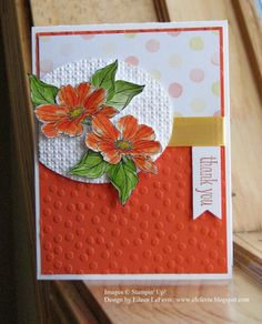 "Eileen's ""Stampin' Fever"" Blog: Techno Monday Lunchtime Challenge"