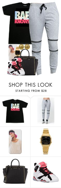 """""""Untitled #1420"""" by power-beauty ❤ liked on Polyvore featuring LA: Hearts, Casio, MICHAEL Michael Kors, Retrò and Chanel"""