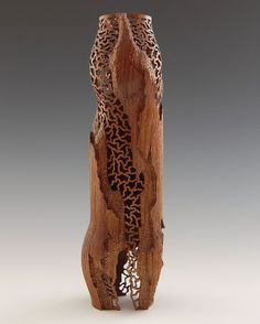 "*Wood Sculpture - ""Revelation"" by John Goodyear (American Walnut, Tung oil based varnish)"