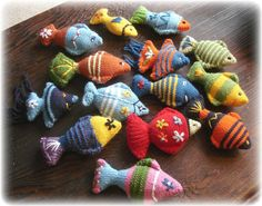 Knitted fish ideas