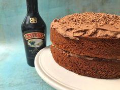 Irish Cream Cake, Baileys Irish Cream, How To Make Cake, Sweet Treats, Ice Cream, Simple, Desserts, Recipes, Low Carb