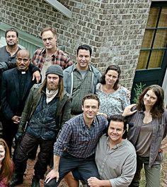 The Walking Dead - season 6 cast