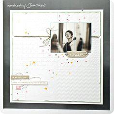 traumhaftes LO von Jennie- luftig leicht mit Folder-Background und Leinenfaden. Love it!
