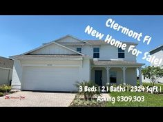 Clermont Florida New Home For Sale Property Tour | Maitland Model by Tay...