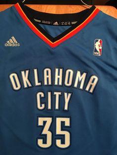 cb49c11c30f OKLAHOMA CITY THUNDER #35 KEVIN DURANT ADIDAS JERSEY YOUTH SIZE XL #adidas  #OklahomaCityThunder