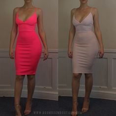 skin tight midi dress. Definitely unforgiving, so if you have anything you want to hide this dress is not for you.