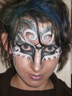 Kingsley Corner: Halloween face painting ideas