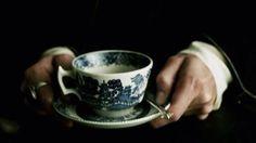 Convo between P & C's grandmother over tea