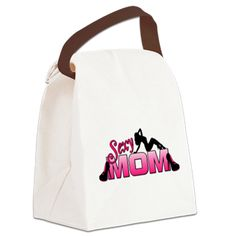 Sexy Mom Canvas Lunch Bag