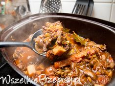 Crockpot Recipes, Cooking Recipes, Good Food, Yummy Food, Polish Recipes, Healthy Dishes, Food Design, Food To Make, Food And Drink