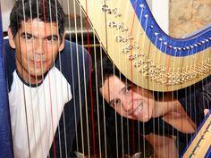 """De Egberto Gismonti a Renato Russo,'A Harpista e o Roqueiro' é um espetáculo musical que promove a diversidade de estilos no Espaço Furnas Cultural, dias 4 e 5 de maio, com entrada catraca livre. Cristina Braga e Dado Villa-Lobo, instrumentistas, cantores e compositores de segmentos distintos, rompem as fronteiras entre as chamadas """"música erudita"""" e...<br /><a class=""""more-link""""…"""