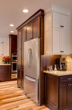Two-tone kitchen cabinets can work with a variety ... Here are a few ideas to integrate two-tone cabinets into your own kitchen.