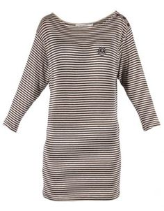 Holmes Bros Womens St James Top Lifestyle Store, Navy Stripes, Cool Outfits, Dresses For Work, Drop Earrings, Clothes, Tops, Women, Fashion