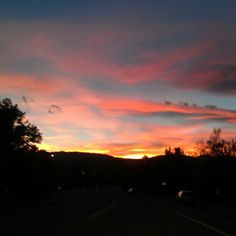 Warner College wants to share this beautiful Colorado sunset with you! #colorado #fortcollins