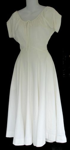 Claire McCardell dress, 1950s | The Vintage Traveler