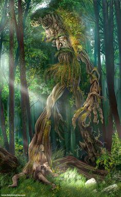 Entt seres mitologicos terrestres miden entre 4'5 metros