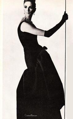 Couture Allure Vintage Fashion: Balenciaga Evening Gown - 1963